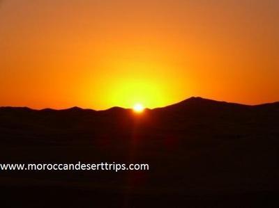merzouga sunrise
