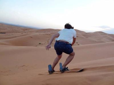merzouga camel treck