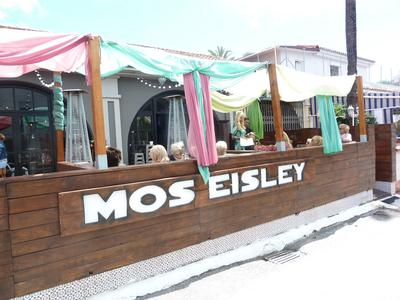 The approach to Mos Eisley