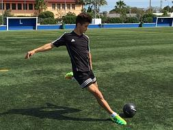 Football for teens in Marbella
