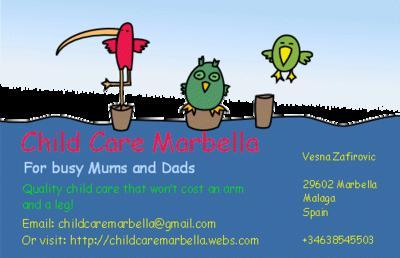 Child Care Marbella Web site