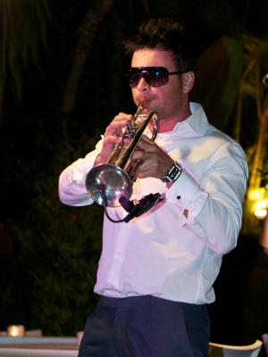 Ruben H on trompet