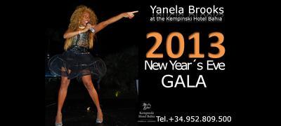Yanela Brooks rocks the New Years Eve Party at the Kempinski Hotel Bahia!
