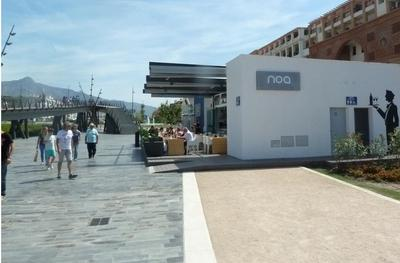 Noa by the wavy bridge