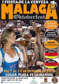Oktoberfest 2010 in Malaga