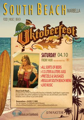 Oktoberfest at South Beach Marbella