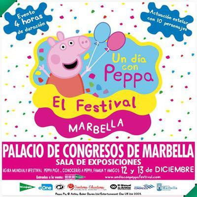 Peppa Pig in Marbella