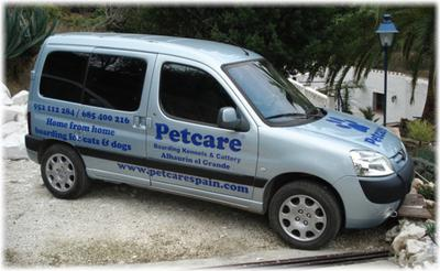 Petcare Pet Hotel Delivery Service