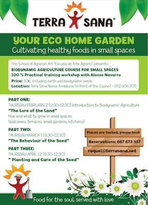 Plant your own eco garden workshop