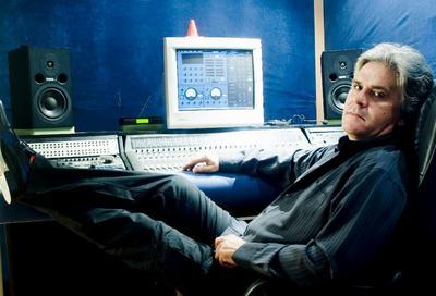 Paul at the MMI Studio