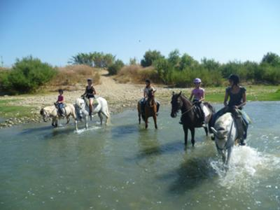 Ride out across the river