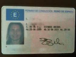 Renewing Spanish Driving Licences in San Pedro