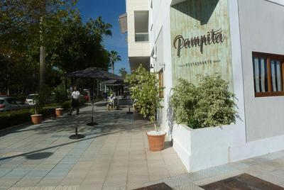 The approach to Pampita