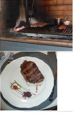 Steaks at Pampita