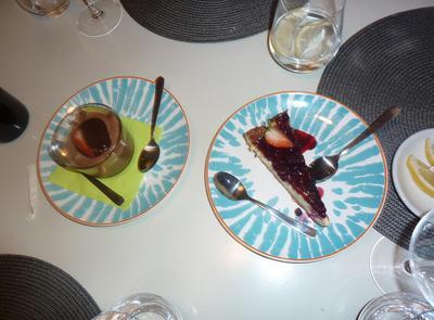Desserts at Pampita