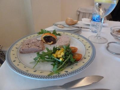 Duck and Partridge Pate