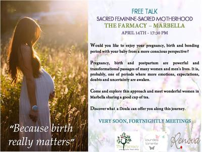 Marbella Pregnancy and Post Pregnancy Workshop