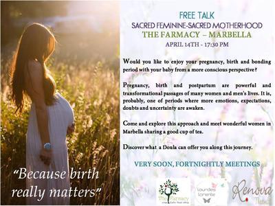 Marbella Pregnancy and Post Pregnancy Workshop