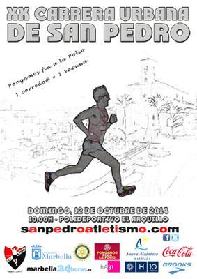 San Pedro Alcantara 5K Urbana Poster