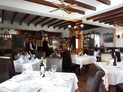 San Rafael's dining room