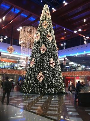 La Canada christmas tree