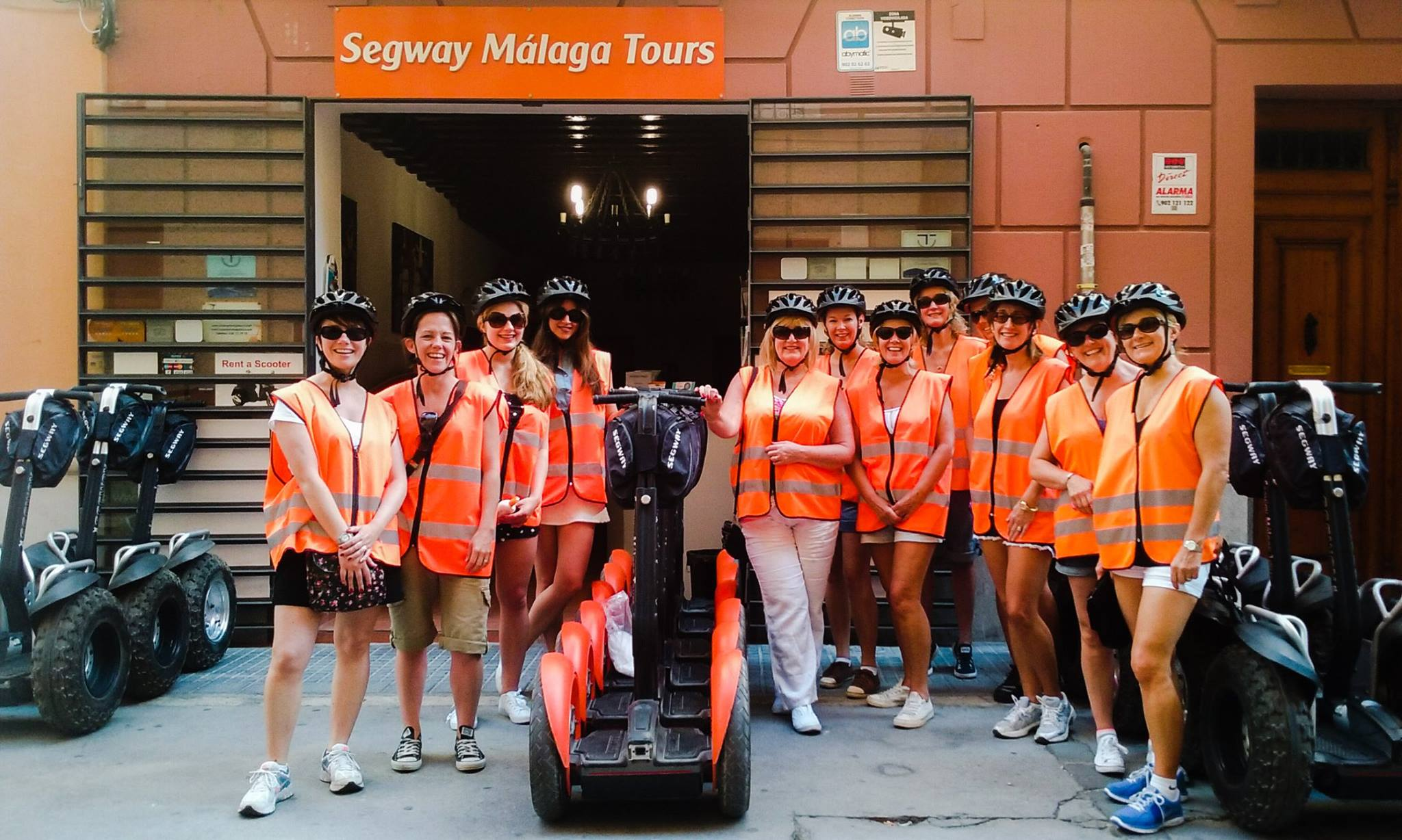 Segway Malaga Tours for professionalism