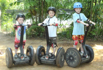 Segway Malaga Tours for kids