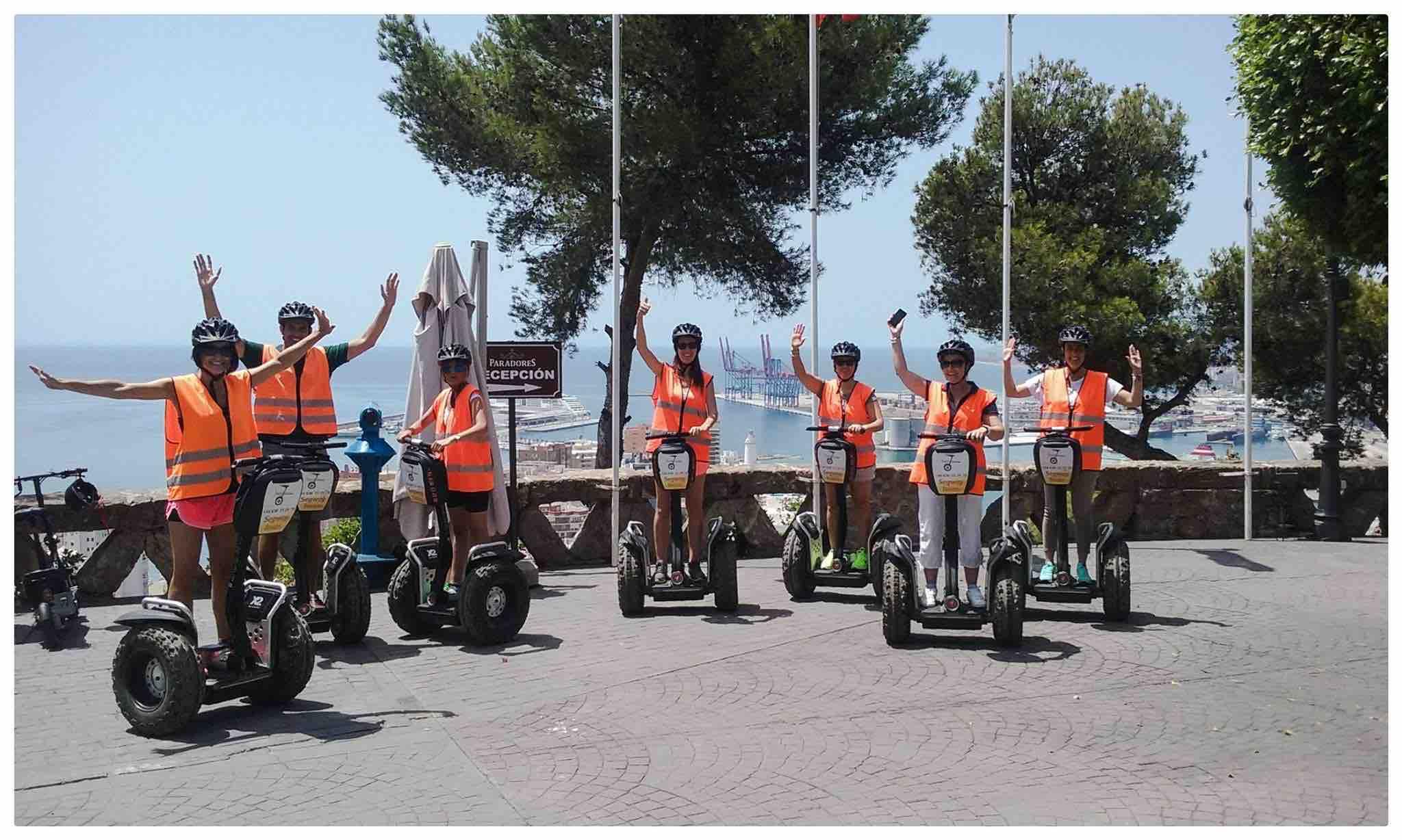 Segway Malaga Tours Beachside