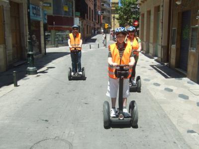 Having fun in Malaga