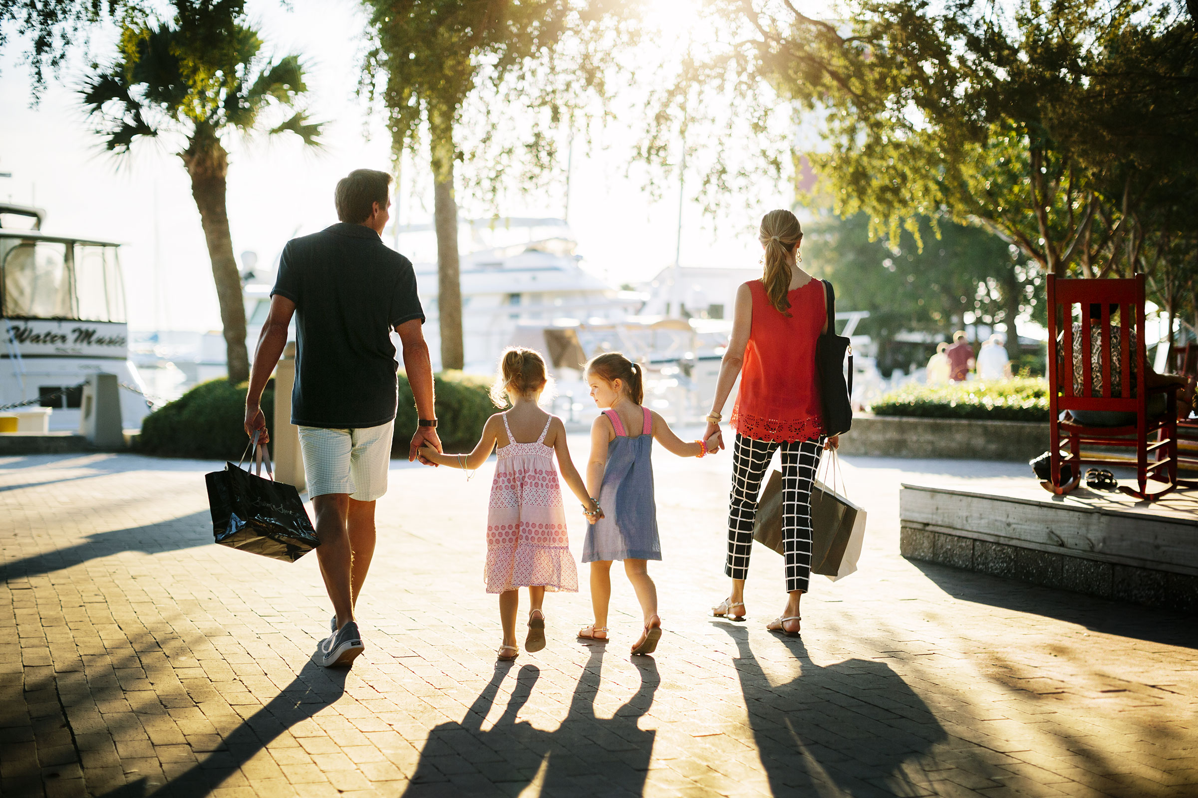 shopping in marbella - puerto banus shops