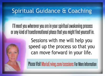 Sessions with Maria Erving - www.MariaErving.com