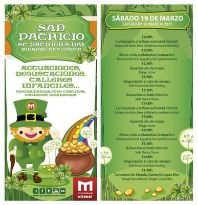 St Patricks Day in Fuengirola