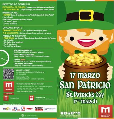 St. Patricks Day at Parque Miramar Fuengirola