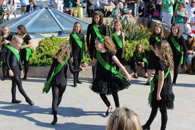 St Patricks Festival Marbella with Irish Dancers