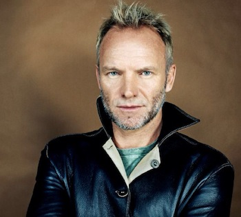 Sting concert in Marbella