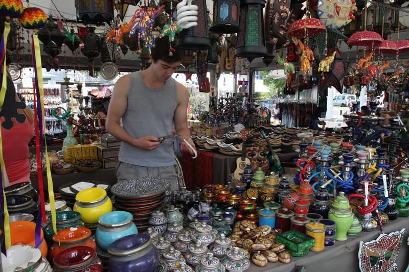 Food Market In Malaga