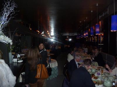 the very busy restaurant Sukhothai Marbella