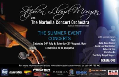 Summer Events concert Marbella 2010