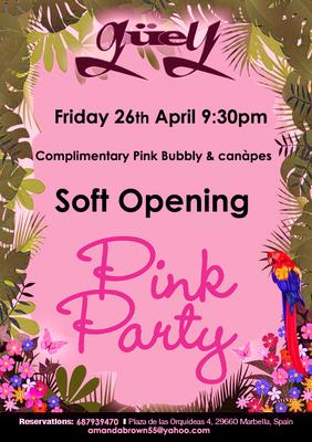 SUMMER OPENING PINK PARTY @ GUEY