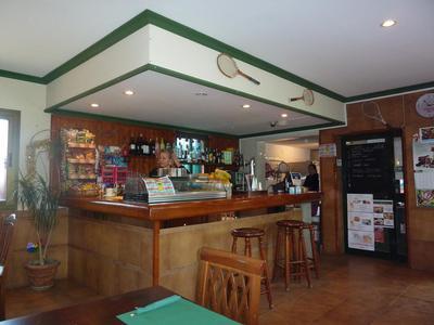 The bar at Bel-Air