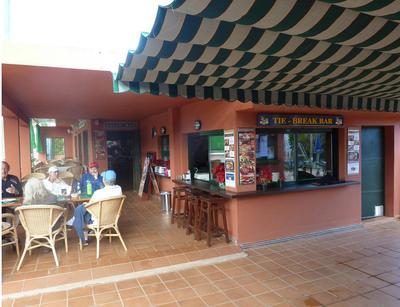 Terrace at Tie Break Bar