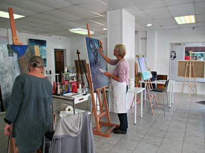 The Art Club in Marbella