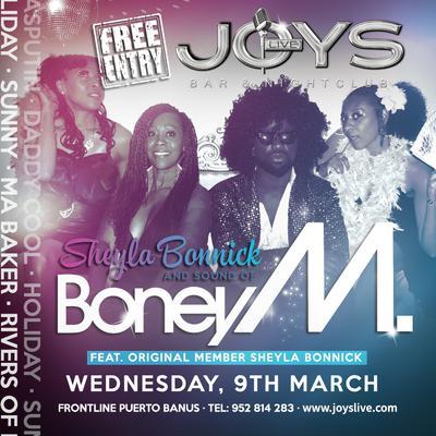 Sounds of Boney M at Joys Live