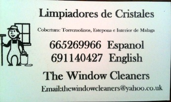 The Window Cleaners Costa del Sol
