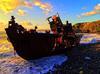 Ship Reck in Odemira