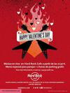 Marbella Hard Rock Cafe Valentines Day Flyer