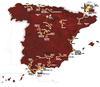 La Vuelta Map