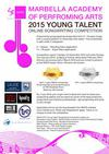MAPA Young Talent Songwriting Competition 2015