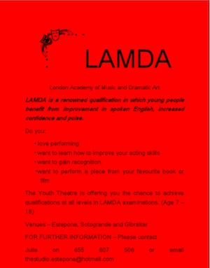 Training for LAMDA - London Academy of Music and Dramatic Art