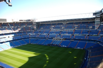Real Madrid football stadium